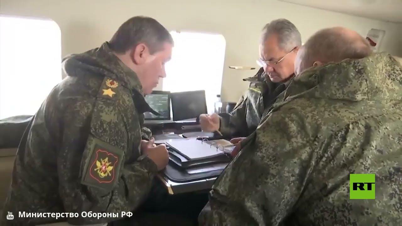 وزير الدفاع الروسي يتفقد جوا سير التدريبات العسكرية في القرم  - نشر قبل 3 ساعة