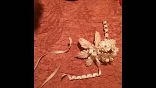 как сделать серпантин для бутоньерки и брошки. Как сделать цветы своими руками