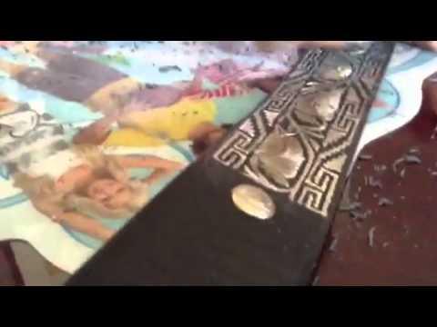 Cintos piteados 2 doovi - Como limpiar un rosario de plata ...