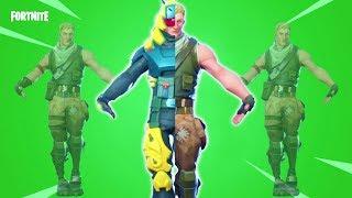 Gambar cover Default Jonesy Skin Vs Pillar Comparison ! Fortnite