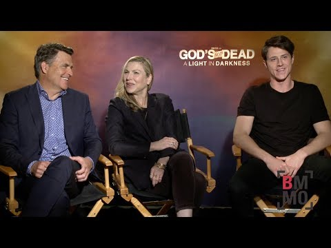 Ted McGinley, Tatum O'Neal, & Shane Harper Interview - God's Not Dead: A Light in Darkness
