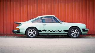 1975 Porsche 911 Carrera 2.7 MFI in the Silverstone Classic Sale 2017