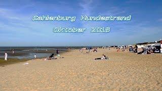 Sahlenburg Hundestrand   Mitte Oktober 2018