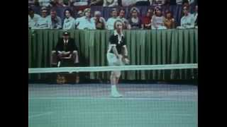 Rod Laver v Bjorn Borg Semi-Final - WCT Finals 1975, Dallas