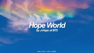Download Hope World | J-Hope (BTS - 방탄소년단) English Lyrics
