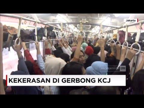Kekerasan di Dalam Gerbong Kereta Commuterline Jabodetabek