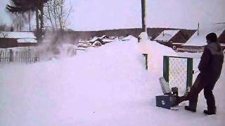 Самодельный снегоуборщик своими руками