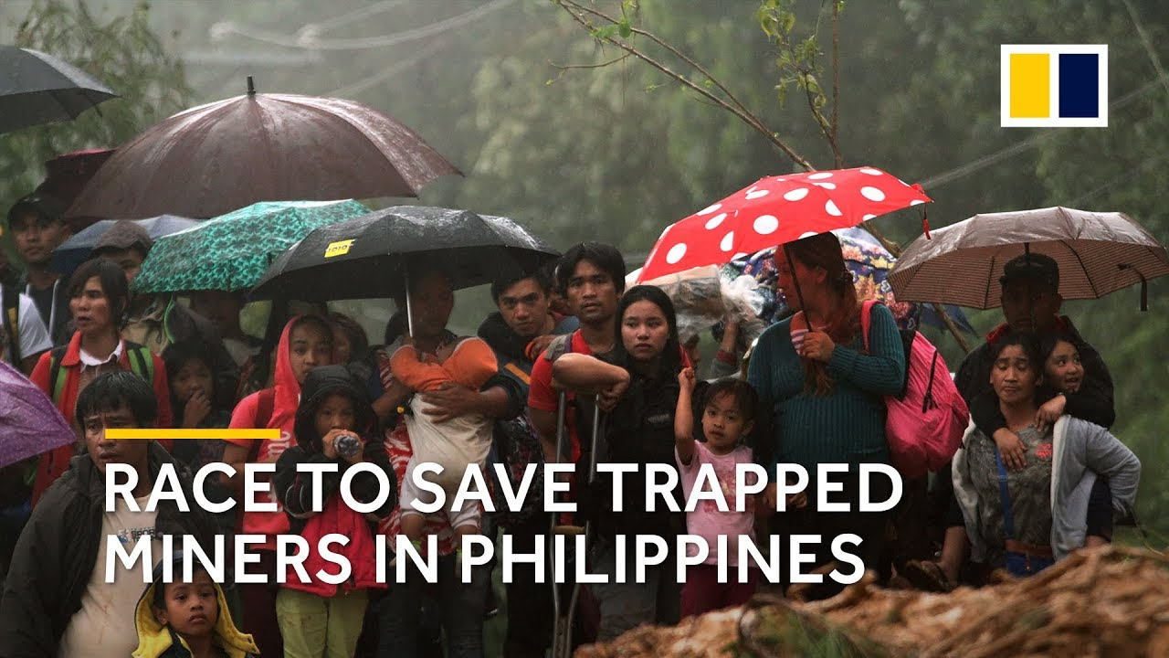 images Philippines Typhoon Yutu landslides death toll and injuries
