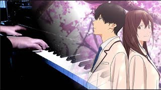 """Gambar cover 【FULL】[Kimi no Suizou wo Tabetai OP] """"Fanfare"""" - sumika (Piano)"""