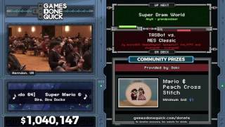 Super Dram World in 33:03 and 9:44 - Awesome Games Done Quick 2017 - Part 167 and 168