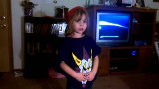 Lil Juggalette singing ICP Down with the clown