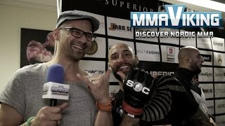 Martin Akthar Superior Challenge 12 Post Fight Interview