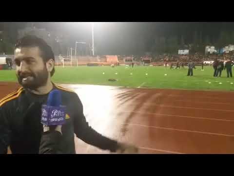 دام برس : من اجواء لقاء الوحدة والاتحاد ضمن المرحلة التاسعة في الدوري السوري لكرة القدم