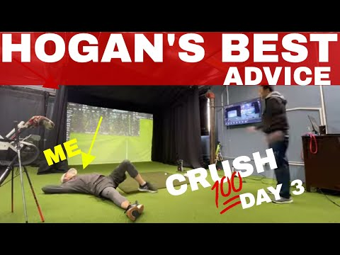 Taking BEN HOGAN's Advice: MENTAL DISCIPLINE: DAY 3 BE BETTER GOLF CRUSH 100 CHALLENGE