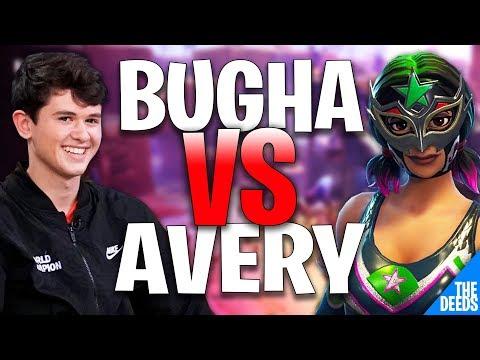 SEN Bugha 1 VS 1 Avery   Creative 1v1 *PRO NA BUILD BATTLES*
