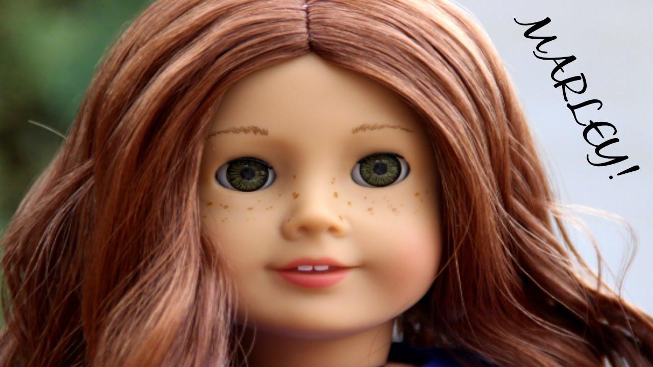 61bbf14c7a6 OPENING MARLEY! (Custom American Girl Doll Saige) - YouTube