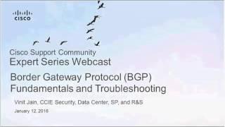 Live Webcast: Border Gateway Protocol (BGP) Fundamentals and Troubleshooting