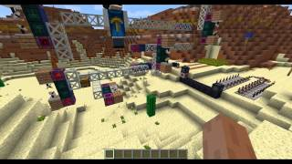 """Behind the scenes of """"How to build a snowman - Modded Minecraft Rube Goldberg"""""""