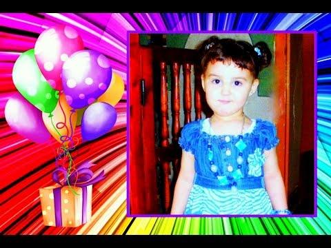 Anniversaire Bebe Fille Enffant Sana Elkhatir 2013 Youtube
