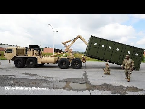 The US Army Implements A New System Of Storing Supplies For The Supply Of Brigade Combat Teams