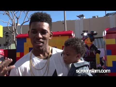 The Lego Movie: Lakers' Nick Young Exclusive Premiere Interview