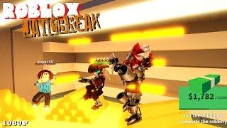 ROBBING THE NEW BANK! Roblox JAILBREAK 97