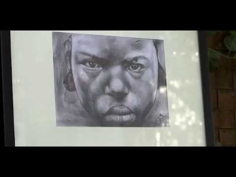 """10-Year Old Afghan Refugee Artist Dubbed """"Little Picasso"""" Gets First Show In Belgrade"""