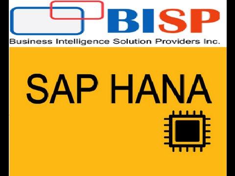 SAP HANA Bootcamp Training Program