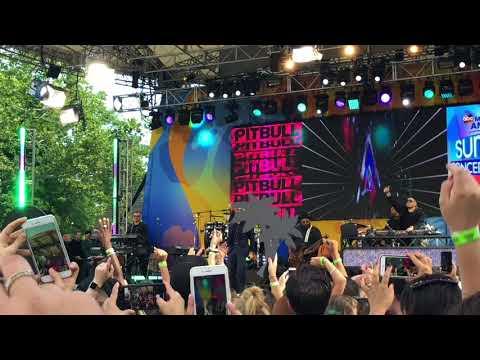Pitbull Full Concert 2018 - GMA Summer Concert Series NYC