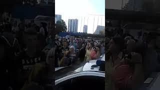 Incident tokom protesta taksista na Savskom trgu