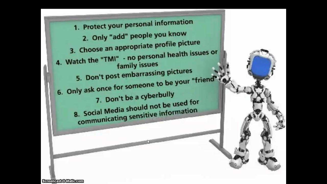 Digital Etiquette - YouTube  Digital Etiquite