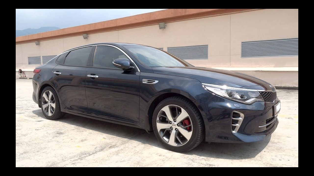2017 Kia Optima 2 0 T Gdi Gt Start Up And Full Vehicle Tour