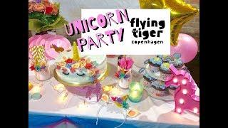 Festa a tema unicorno: torta, cerchietti e decorazioni di Tiger !