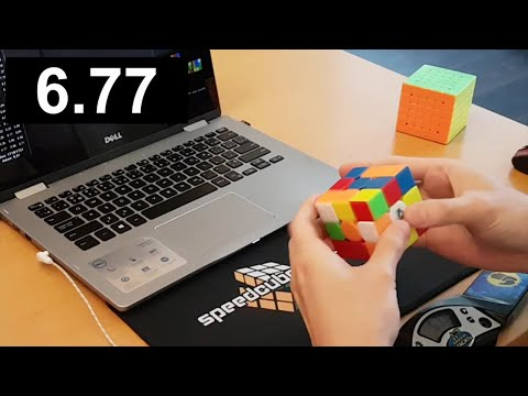Rubik's Cube 7.21 Average!