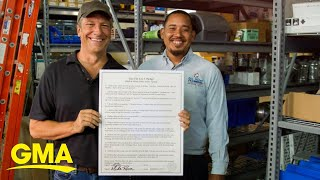 Baixar Mike Rowe talks how he is redefining what a college degree means l GMA