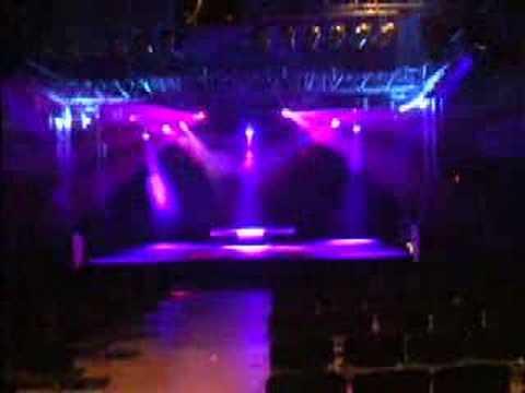 stage lighting demo
