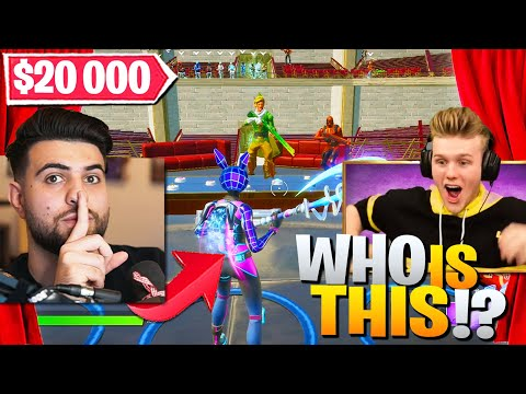 I SNUCK INTO Lachlan's $20 000 Trio Fashion Show World Cup! (Fortnite Battle Royale)