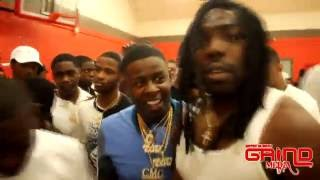YFN Lucci vs BMG Young Scooter Basketball Game