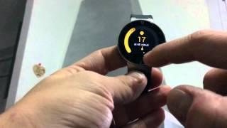 Alcatel smartwatch onetouch SM02