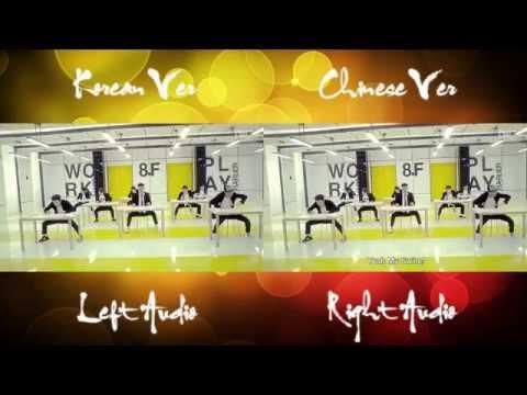 Super Junior-M - SWING (Korean Chinese MV Comparison)