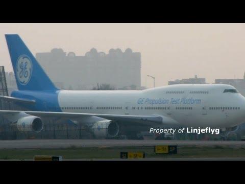 GENERAL ELECTRIC BOEING 747-446 N747GF