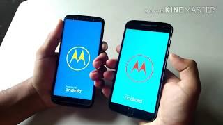 Moto G6 vs Moto G4 Plus Speed Test Video
