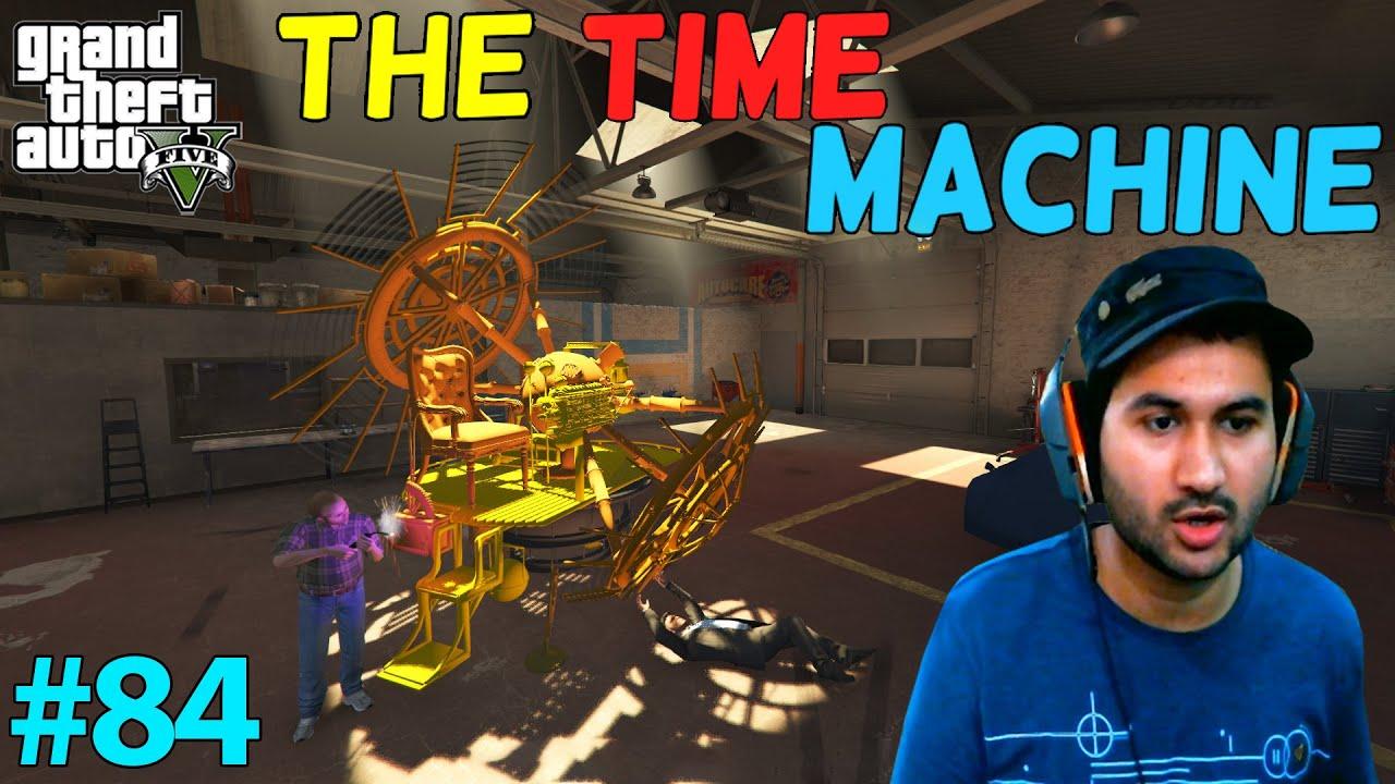 GTA 5 : TREVOR FOUND TIME MACHINE | GTA5 GAMEPLAY #84