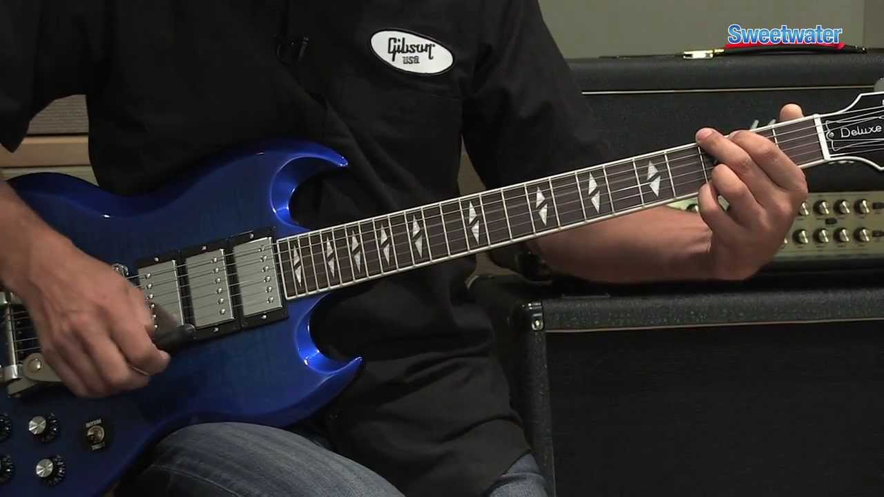 Gibson SG Deluxe Electric Guitar Demo - Sweetwater Sound ...