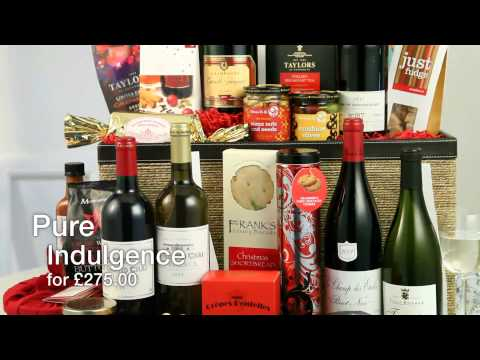 Interflora's Christmas Hamper Range