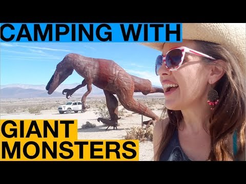IT CAME FROM BORREGO SPRINGS: Camping In a Forest of Giant Metal Monsters