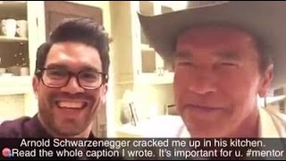 Arnold Schwarzenegger & Tai Lopez: Why You Must Think Big: Part I