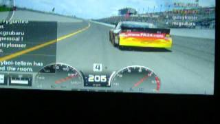 nascar racing daytona 2012 gt5 awesome last lap pass