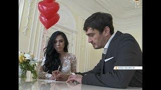 В День святого Валентина резко подскочило число свадеб
