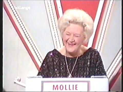 Mollie Sugden -Blankety Blank 1984